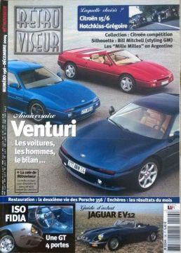 LOT de 10 revues sur Venturi